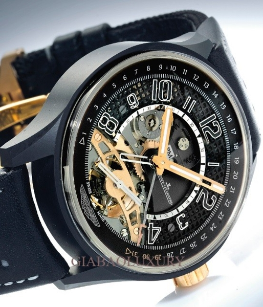 Đồng hồ Jaeger-leCoultre Dual Time Zone Tourbillon AMVOX3 Ceramic Limited Edition