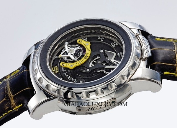 Đồng hồ Ulysse Nardin Freak Diavolo 8 Days Carrousel Tourbillon 75th Anniversary Ref 2089-115