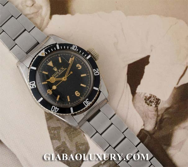 Đồng hồ Rolex Submariner 'Big Crown' Ref. 6200