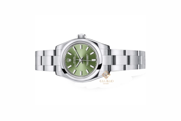 Đồng Hồ Rolex Oyster Perpetual 26 176200 Mặt Số Xanh