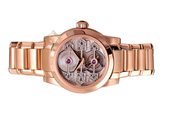 Đồng hồ Girard-Perregaux Tourbillon Three Gold Bridges 9925