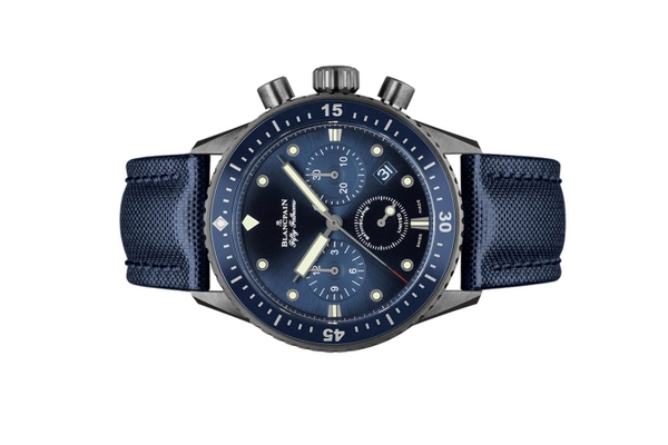 Đồng hồ Blancpain Fifty Fathoms Bathyscaphe Chronographe Flyback Ocean Commitment 5200-0240-52A