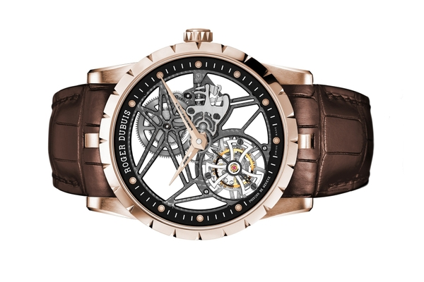 Đồng Hồ Roger Dubuis Excalibur Skeleton Flying Tourbillon RDDBEX0392