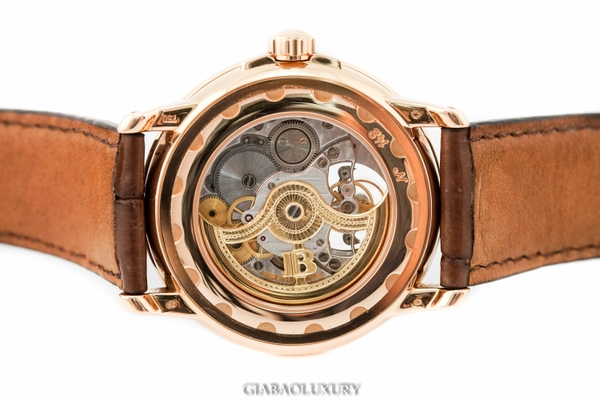 Đồng Hồ Blancpain Leman Tourbillon 8 Day Power Reserve 2125-1418-53