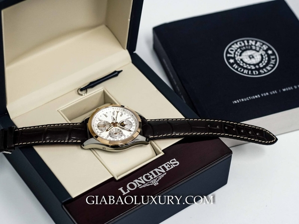 Đồng Hồ Longines Conquest Classic Chronograp Moonphase L27985723