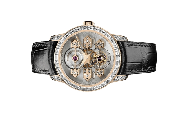 Đồng hồ Girard Perregaux Bridges Tourbillon with Three Gold Bridges 41mm 99193B52H00A-BA6A