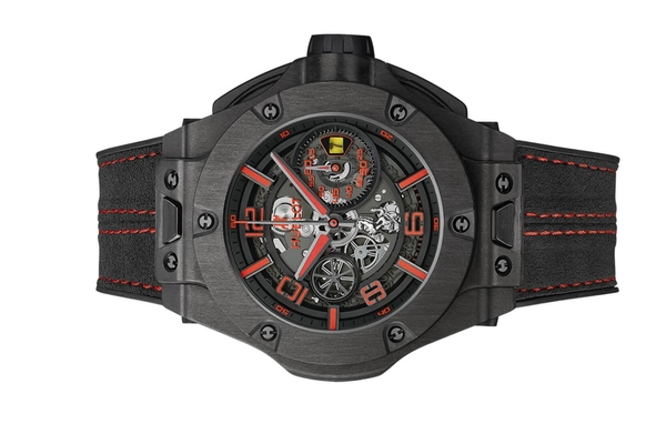 Đồng hồ Hublot Big Bang Ferrari Chronograph Unico Carbon 45mm 402.QU.0113.WR