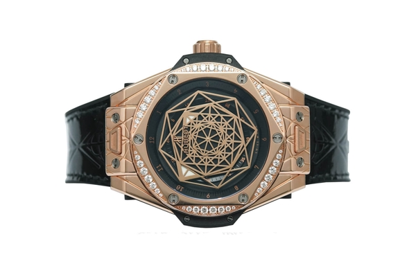 Đồng Hồ Hublot Big Bang Sang Bleu King Gold Diamonds 39mm 465.OS.1118.VR.1204.MXM17