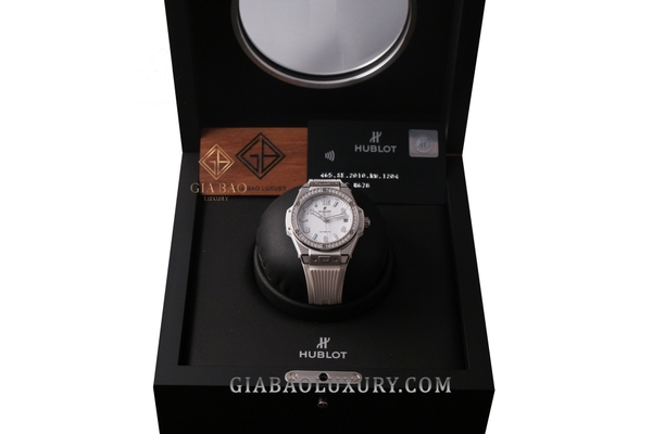 Đồng Hồ Hublot Big Bang One Click Steel White Diamonds 39mm 465.SE.2010.RW.1204
