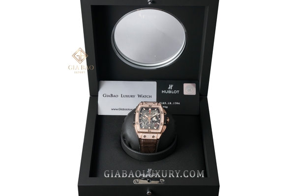 Đồng hồ Hublot Spirit Of Big Bang King Gold Pavé 42mm 641.OX.0183.LR.1704