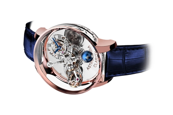 Đồng Hồ Jacob & Co Astronomia Clarity Rose Gold AT120.40.AD.SD.A