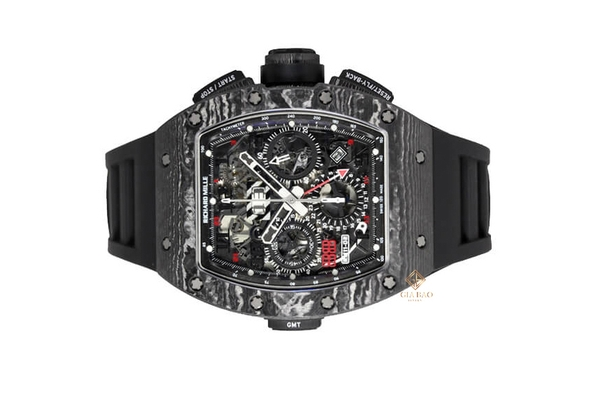 Đồng Hồ Richard Mille Flyback Chronograph Dual Time Zone RM011-02 Carbon