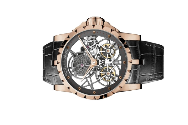 Đồng Hồ Roger Dubuis Skeleton Double Flying Tourbillon RDDBEX0283