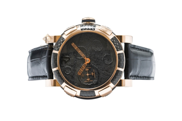 Đồng Hồ Romain Jerome Moondust Gold Mood Black Dial  MB.F2.22BB.00