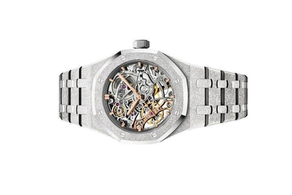Đồng Hồ Audermars Piguet Royal Oak Double Balance Wheel Openworked 15466BC.GG.1259BC.01