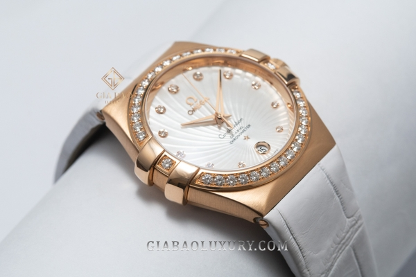 Đồng hồ Omega Constellation Co-Axial 35 123.58.35.20.55.003