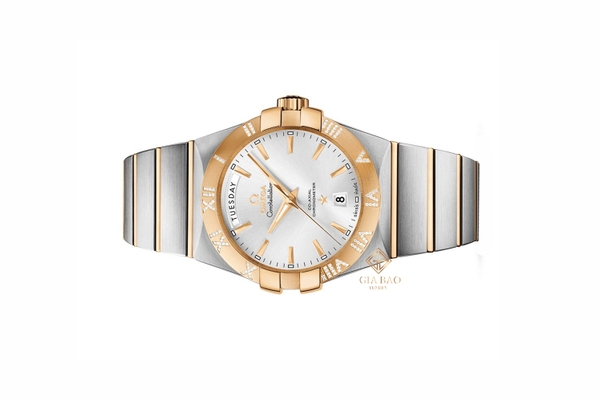 Đồng Hồ Omega Constellation Silver Dial Watch 123.25.38.22.02.002