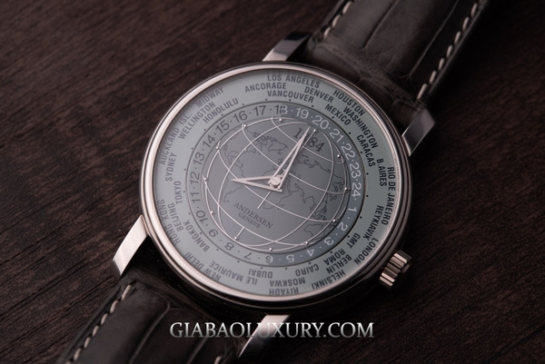Đồng Hồ Andersen Geneve World Time 1884