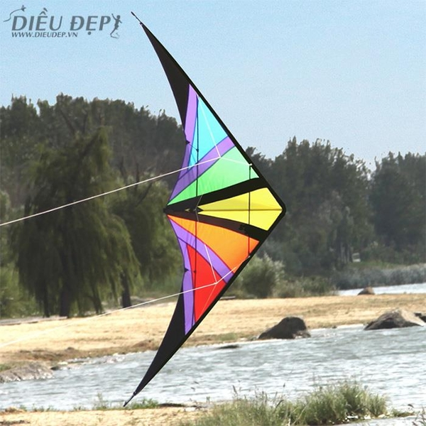 STUNT KITE - RAINBOW 2.2M
