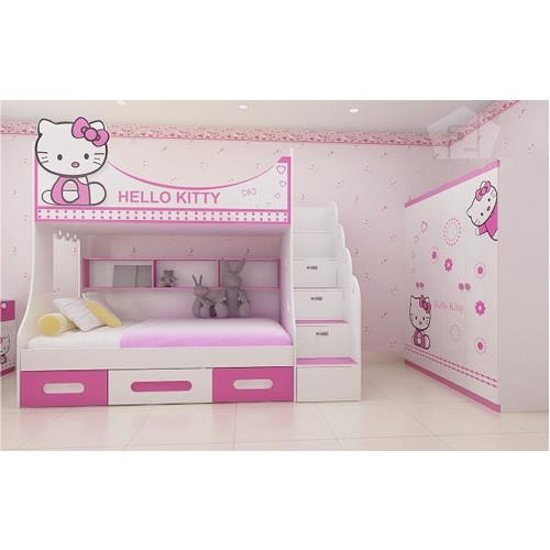 Giường tầng Hello kitty GT04