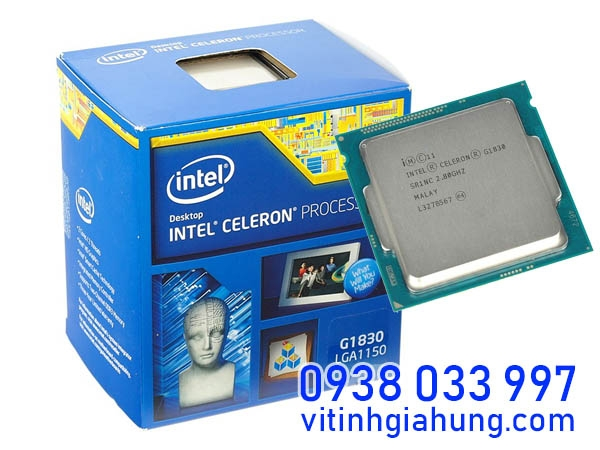 BỘ XỬ LÝ CPU INTEL CELERON G1830 2.80GHZ / 2MB CACHE / INTEL® HD GRAPHIC / SOCKET 1150