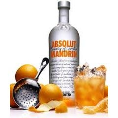 Ruou Vodka Absolut Mandrin (cam) 0.75L
