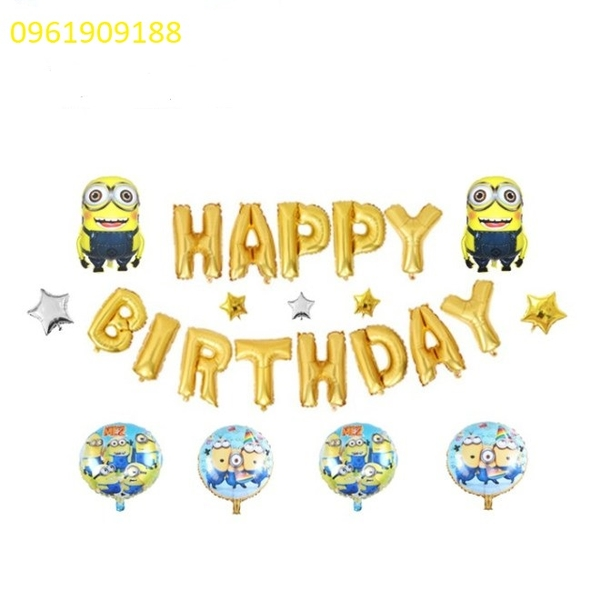 SET BÓNG MINION 24C