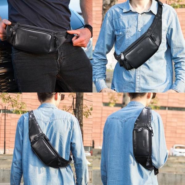 Túi đeo hông - đeo bụng da bò thật trẻ trung - 1359577