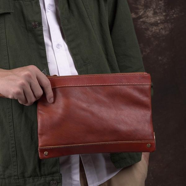 Clutch cầm tay nam nữ da xịn - 996817