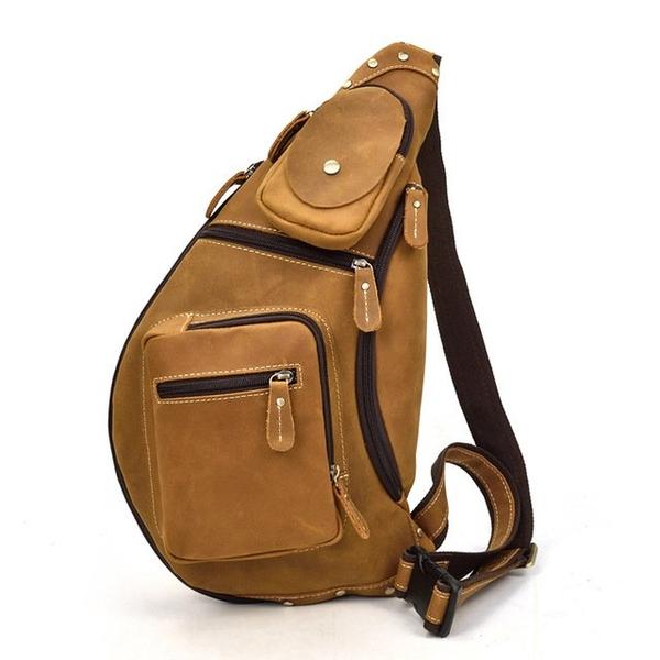 Túi đeo chéo bầu rượu da sáp trẻ trung năng động - 1297709