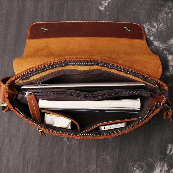 Túi đeo chéo nam da sáp dáng nhỏ gọn trẻ trung - 1313565