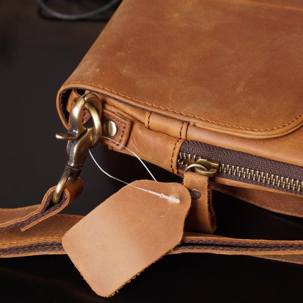 Túi đeo chéo nam da thật dáng đứng - 1313563