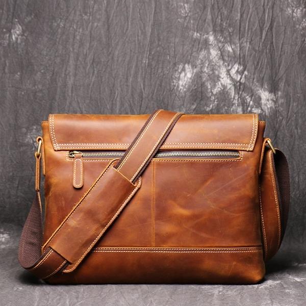 Túi đeo chéo nam da bò thật dáng ngang - 1313564