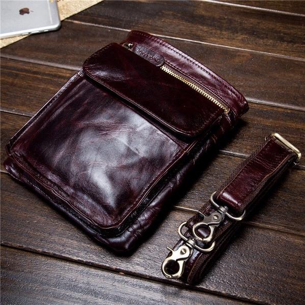 Túi đeo chéo đeo hông nam da bò xịn - 1011444