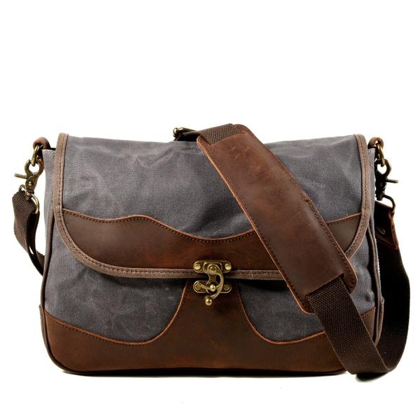 Túi đeo chéo - Túi đựng máy ảnhvải bố chống nước - 1475575