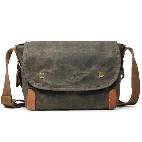 Túi đeo chéo vải bố unisextrẻ trung năng động - 1360701