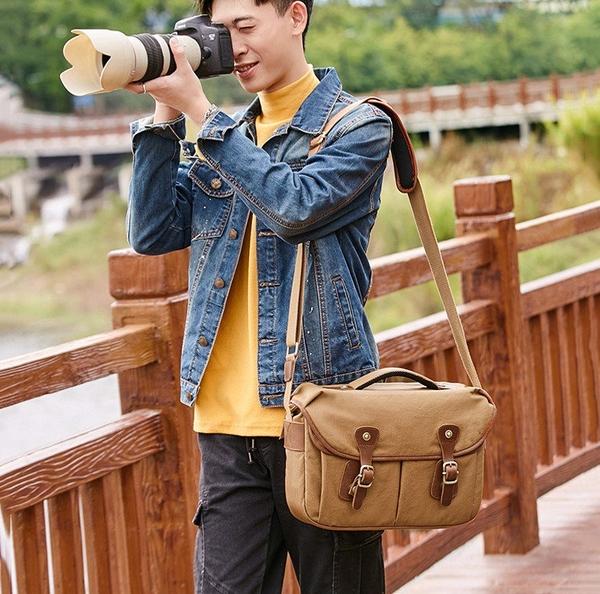 Túi máy ảnh vải chống thấm nước - 1012605