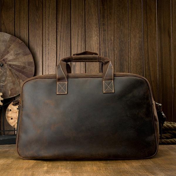 Túi xách đựnghành lý da bò sáp cao cấp- 1412756
