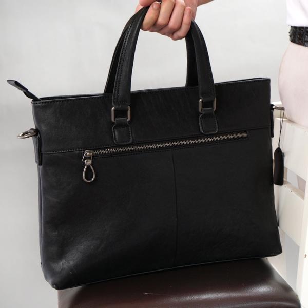 Túi xách kinh doanh da bò xịn đựng Laptop 15.6 inch- 1365607