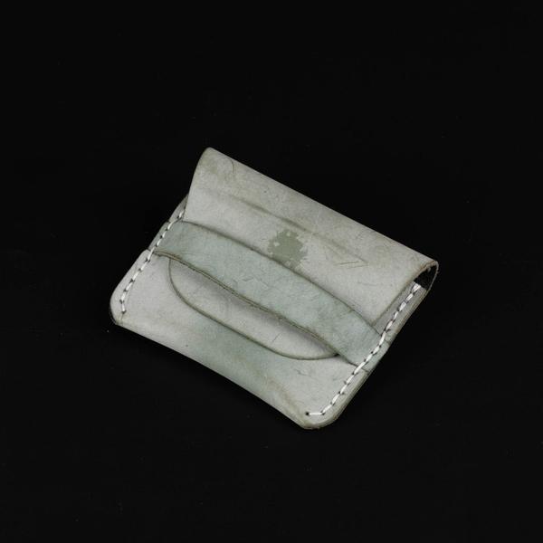 Ví ngắn da bòretro Handmade đựng thẻ-876729