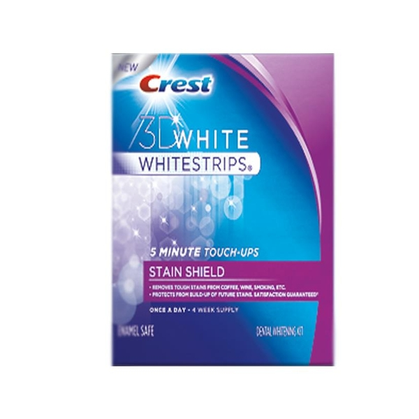 Crest 3D White Whitestrips Stain Shield: Thuốc Trắng Răng