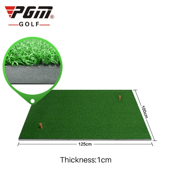Thảm Tập Swing Golf 1mx1,25m - PGM Hitting Mat - DJD002