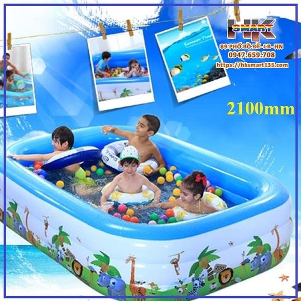 Bể bơi phao trẻ em 3 tầng Swimming Pool