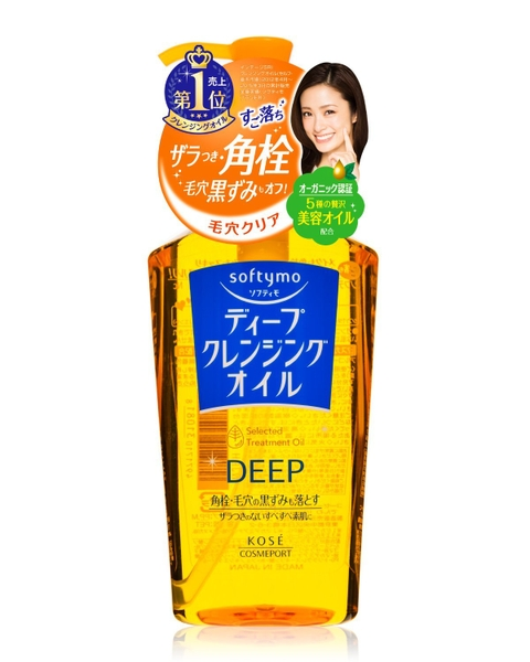 Dầu tẩy trang Kose Softymo deep cleansing oil 240ml