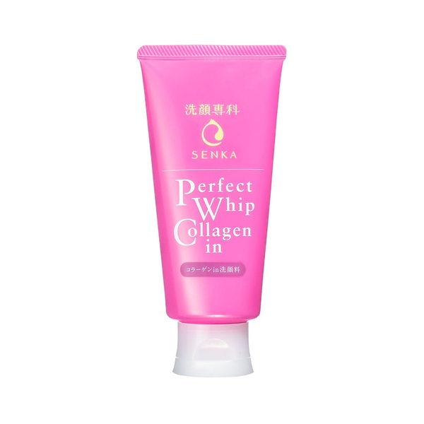 Sữa rửa mặt Shiseido Senka perfect whip collagen 120g