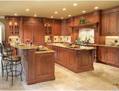 Các loại gỗ tự nhiên làm tủ bếp được ưa chuộng