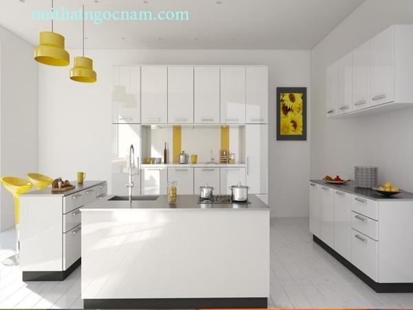 10 lý do bạn nên chọn nội thất tủ bếp làm từ vật liệu Acrylic