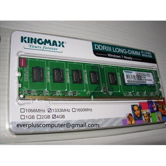 DDRAM 3 KINGMAX 4G Bus 1600