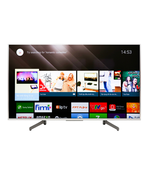 Tivi Sony 4K Android 49 inch KD-49X8500G/S (2019)