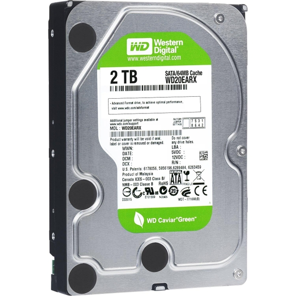 Ổ cứng gắn trong WD GREEN POWER 2TB
